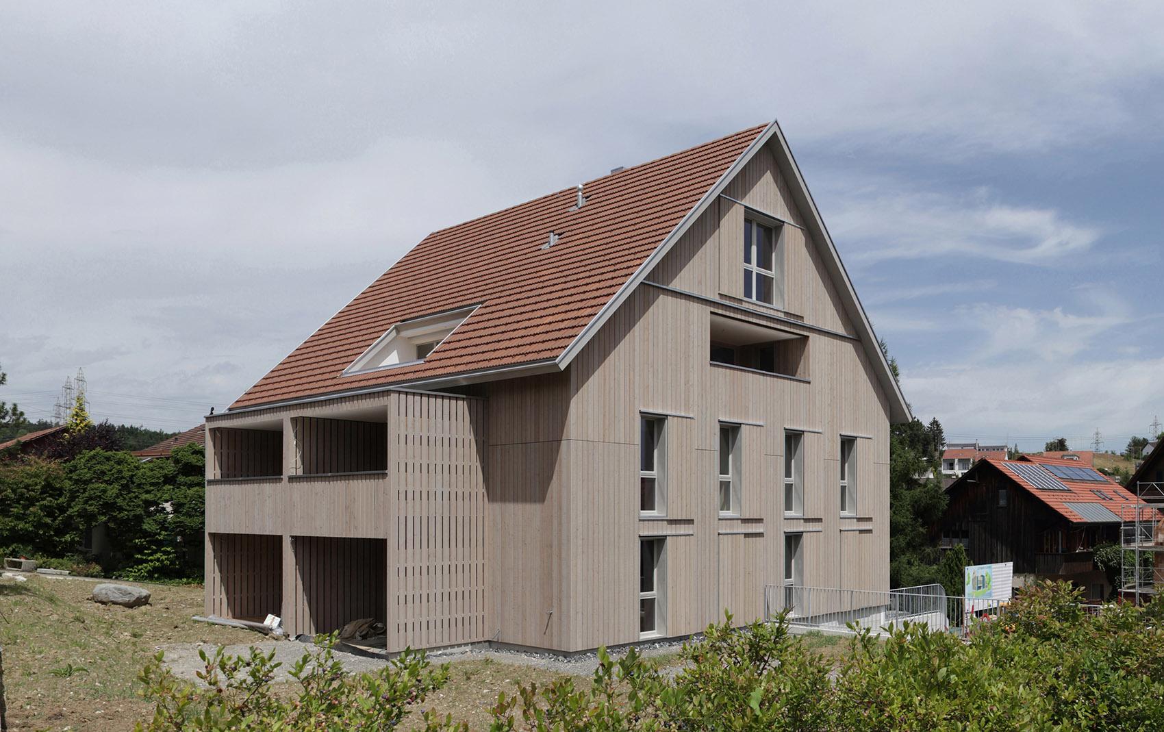 Hinterdorfstrasse lindau zh de biasio scherrer architekten - Architekten lindau ...